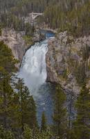 Upper Falls on the Yellowstone