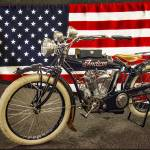 """1914 Indian Big Twin Motorcycle_HDR"" by FatKatPhotography"