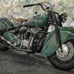 """1947 Indian Chief Motorcycle_HDR"" by FatKatPhotography"
