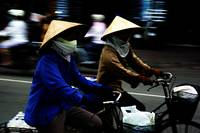 Ho Chi Minh City. Street Riders
