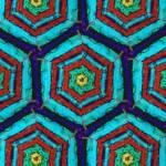 """""""red sky blu purpl 12x7 1"""" by LynnArmedeDeBeal"""
