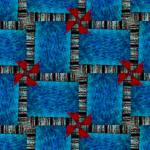 """Kaleidoscope Set K 600x1000x200_12-31-07_20-03-16"" by LynnArmedeDeBeal"