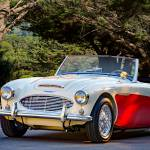 """1957 Austin-Healey 100-6 Roadster"" by FatKatPhotography"