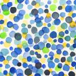 """Happy Dots in Watercolor Abstract Art Baby Room"" by IrinaSztukowski"