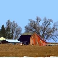 Midwest Farm Art Prints & Posters by Kirt Tisdale