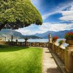 """Villa Terrace at Lake Como"" by George_Oze"
