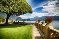 Villa Terrace at Lake Como