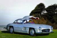 1955 Mercedes Benz 300SL Gullwing_HDR