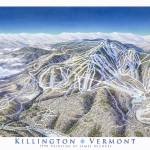 """Killington 1990 trail map image"" by jamesniehuesmaps"