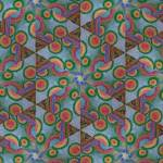 """KaleidoscopeBBBBB_10-12x7x200-07_13-02-16"" by LynnArmedeDeBeal"