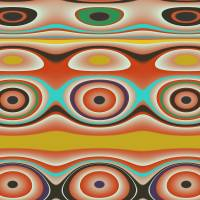 Oval Circle Patterns Art Prints & Posters by Jessica Wright