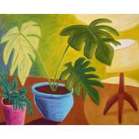 Potted Plants and Lamp Art Prints & Posters by michael pfleghaar
