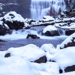 """Snowy Middle MCCloud Falls"" by Michele"
