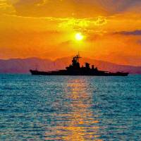 Twilight of the Battleship Art Prints & Posters by Jim Caiella