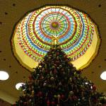 """Mall Christmas Tree Study 1"" by robertmeyerslussier"