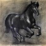 """black-horse"" by Ezartesa"