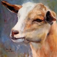 You've Got My Goat! Art Prints & Posters by Norma Wilson