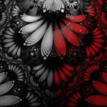 """Shikoba Fractal Feathers of the Vampire"" by jaya-prime"