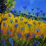 """blue cornflowers 5661"" by pol"