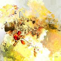 Paganini Theme Art Prints & Posters by Van Renselar