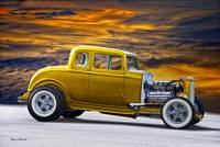 1932 Ford Coupe 'All the King's Gold'