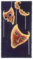 Mardi Gras Masks, Coney Island Book of the Dead
