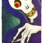 """Boney Hand, Coney Island Book of the Dead"" by sheilamartin"