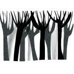 """""""winter trees print"""" by pfleghaar"""
