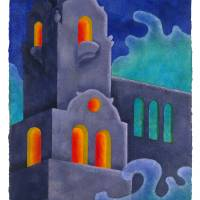 Half Moon Hotel, Coney Island Book of the Dead Art Prints & Posters by Sheila Martin