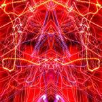 """Abstract Light Streaks #313, 11 Dec 2016"" by nawfalnur"