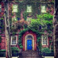 Sutton Place Summer 2016 with logo Art Prints & Posters by Michael Lackovich