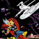"""Thor v The Silver Surfer"" by DanAvenell"