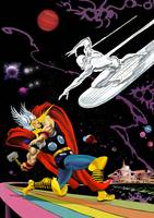 Thor v The Silver Surfer