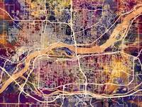 Quad Cities Street Map