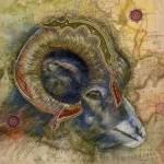 """Warrior Ram prt"" by AlmaLee"