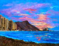 Diamond Head Sunrise