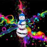 """""""Snowman Magic"""" by ecolosimo"""
