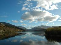 Snowdon over Llanberis lake 03