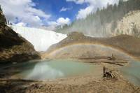 Wapiti Falls and rainbow