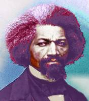 Frederick Douglass Painting In Color Pop Art