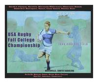 College Rugby Poster Furman Print Ready