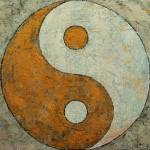 """Gold Yin Yang"" by creese"