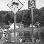 """Brookfield, Vt - Floating Bridge 2006"" by Ffooter"