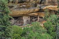 Ancestrol Cliff Dwellings Mesa Verde National Park