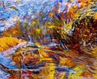Flowing River Abstract 2