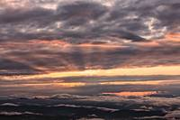 Majestic sky from Monte Nerone, Italy