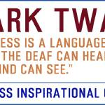 """Timeless Inspirational Quotes -MARK-TWAIN"" by motionage"