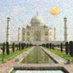 """taj mahal 2 art"" by motionage"