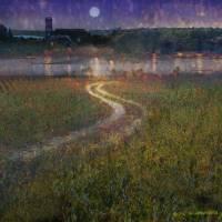 light on the river vinyards by r christopher vest