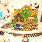 """Gingerbread House Study 5"" by robertmeyerslussier"